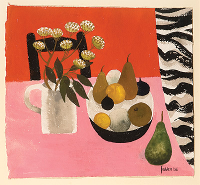 Mary Fedden - Pink and Red