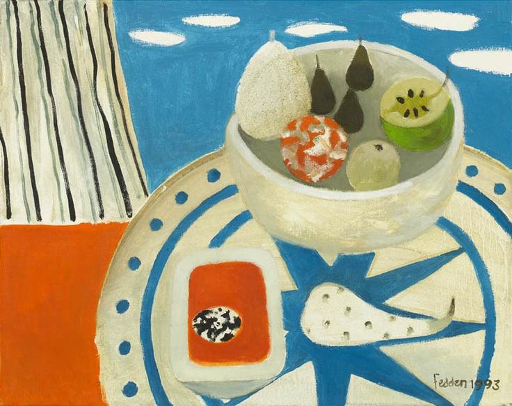 Mary Fedden - Still Life on Tabletop