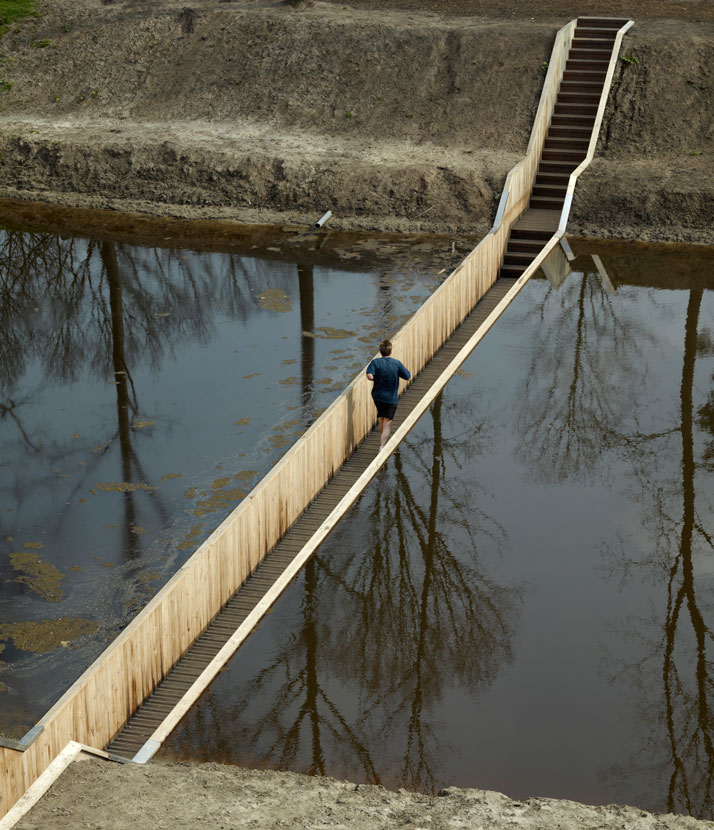 Moses Bridge by Ro-Ad in Netherlands