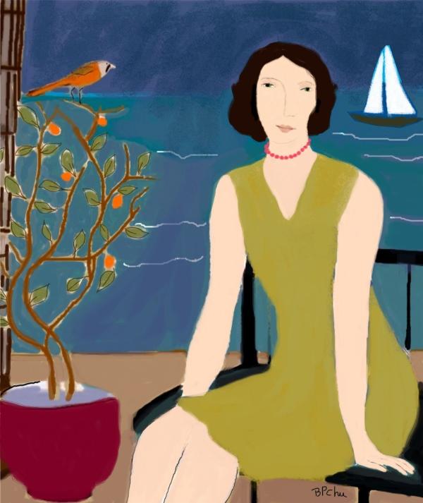 Barbara Perrine Chu - Woman and the Sea