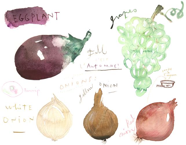 Lucile Prache - Fall food