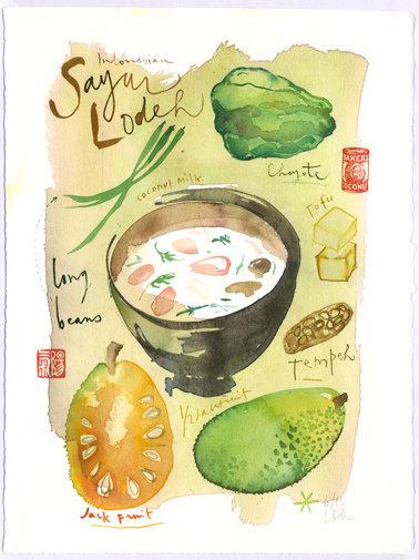 Lucile Prache - Indonesian recipe