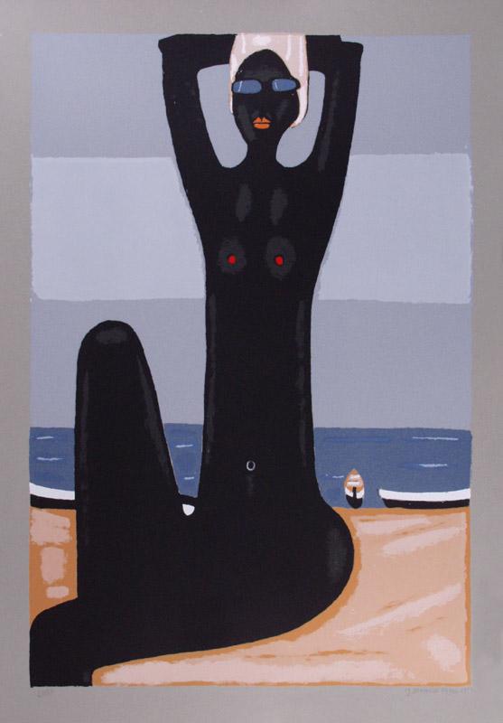 mapart.me:   Jerzy Nowosielski - Akt na Plaży
