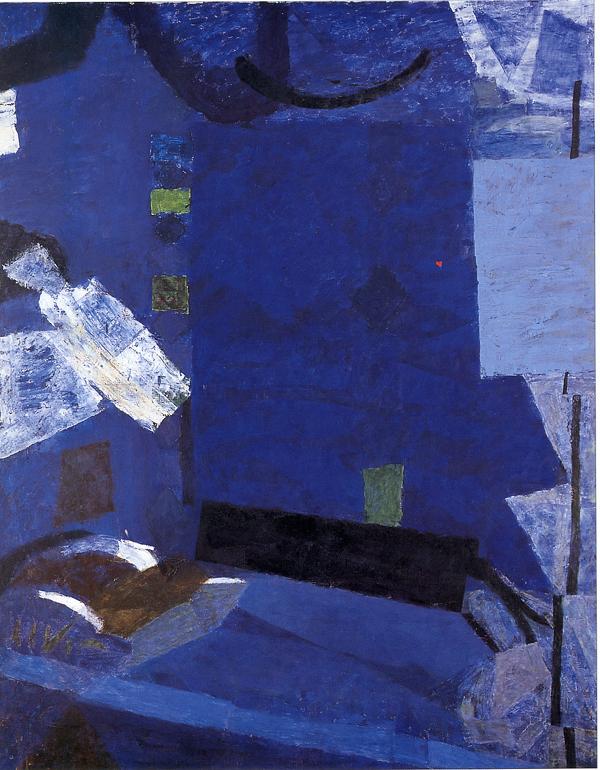 mapart.me:   Piotr Potworowski - Blue Room