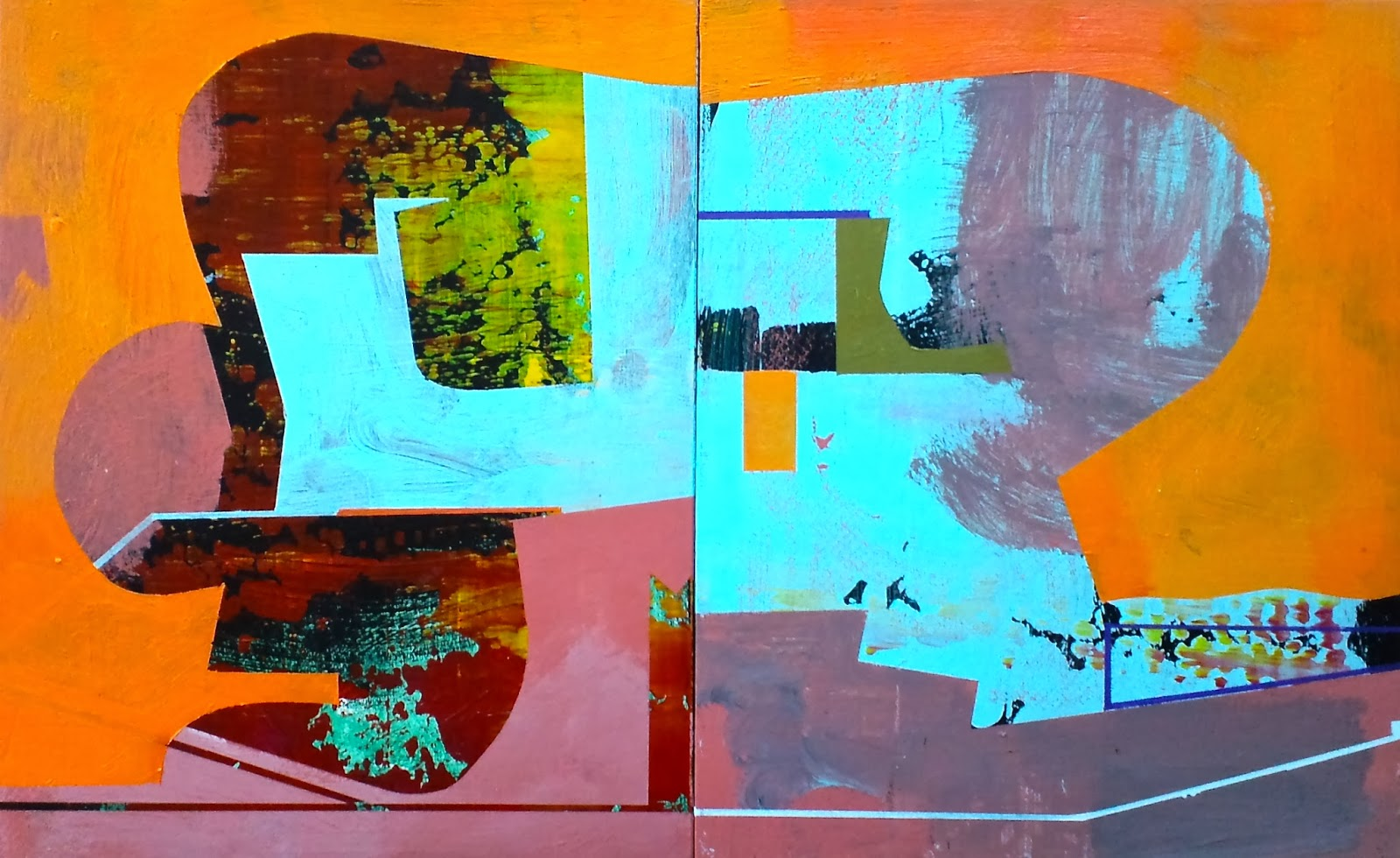 mapart.me:   Jim Harris - Fly Me to the Moon. Diptych