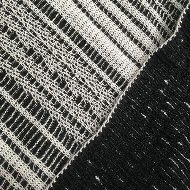 Developing, researching, playing 🤪➿🤪➰🤪➿ #knitting #stollknitting #knittersofinstagram #knitdevelopment #digitalknit