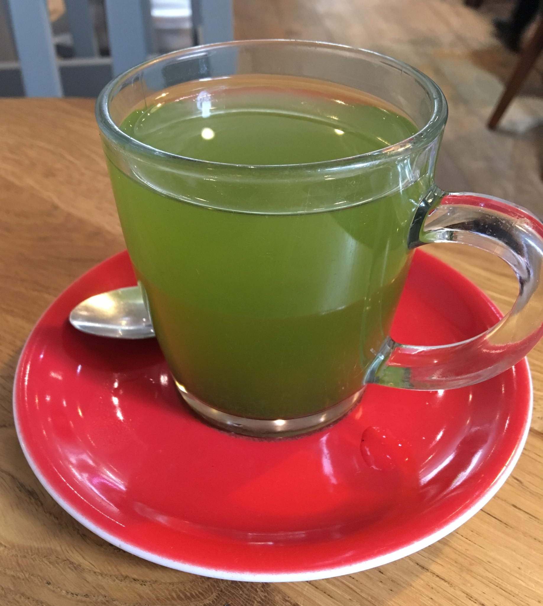 Its very green but Matcha Tea is such a great way to get some clean energy!