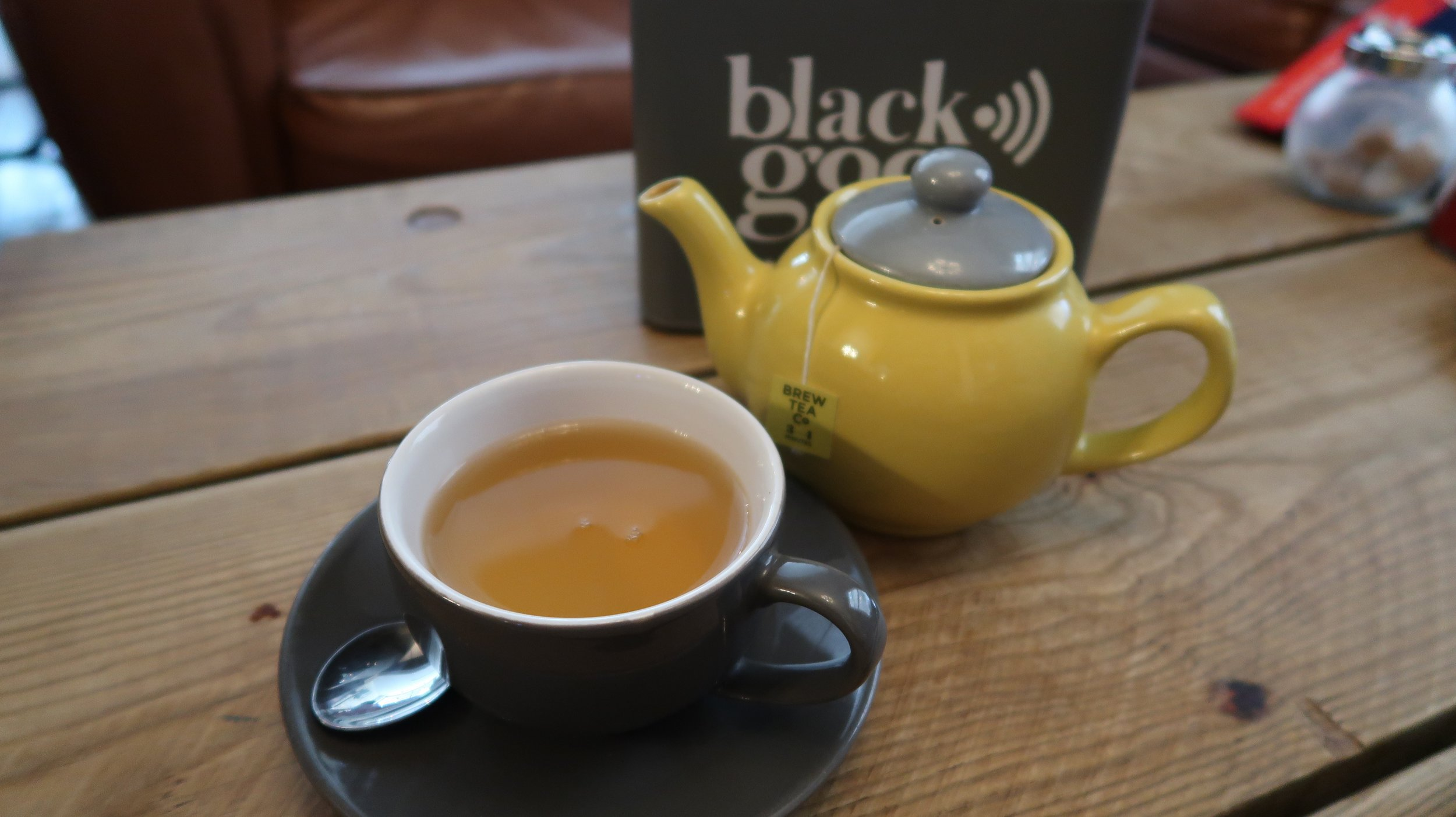 Peppermint tea can be a great option at coffee shops when you don't fancy another flat white!