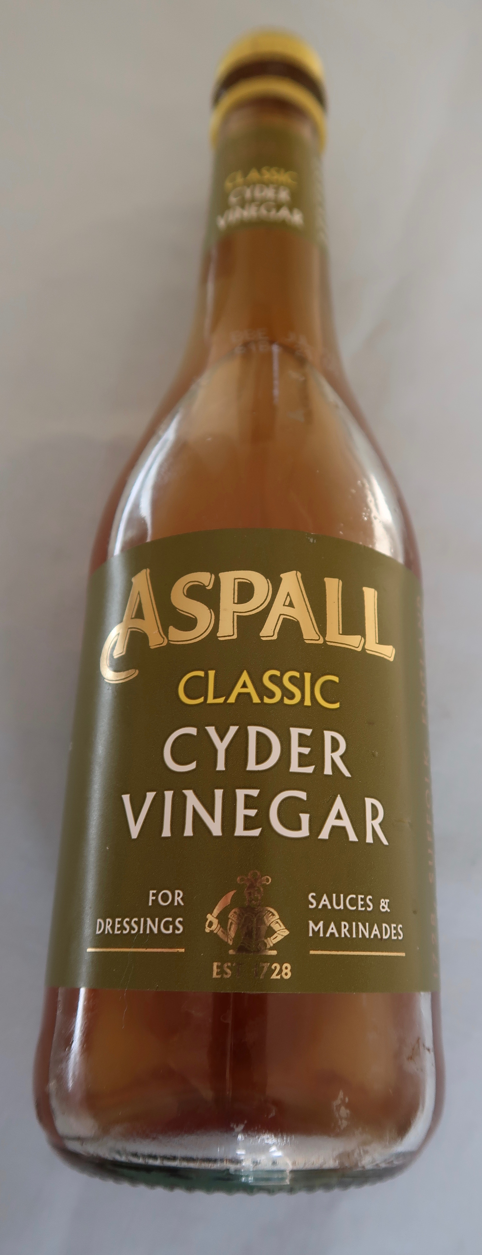 There are many brands, I am currently trying Aspall