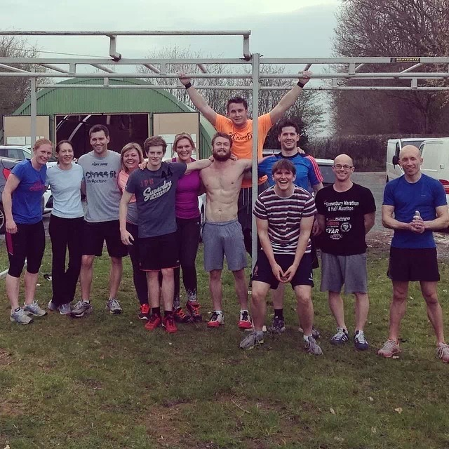 Experiences don't have to be expensive or in exotic countries, some of my best experiences have been meeting people locally such as this bunch at Crossfit Shropshire!
