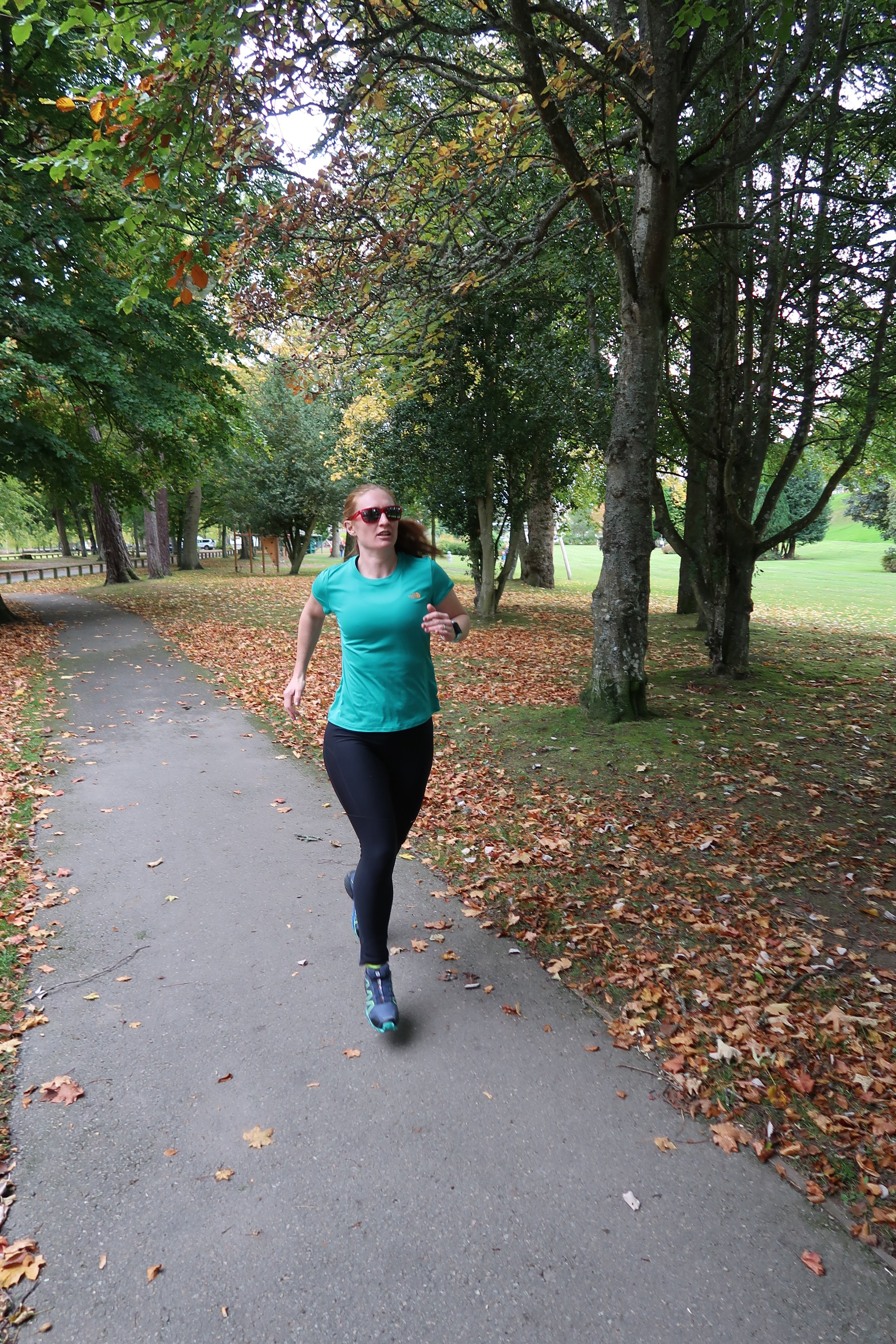 Fartlek helps to keep a session interesting and varied, give it a go running between trees!
