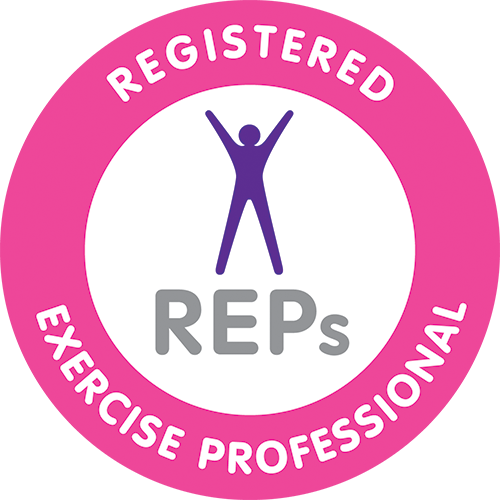 Certified on the Register of Exercise Professionals