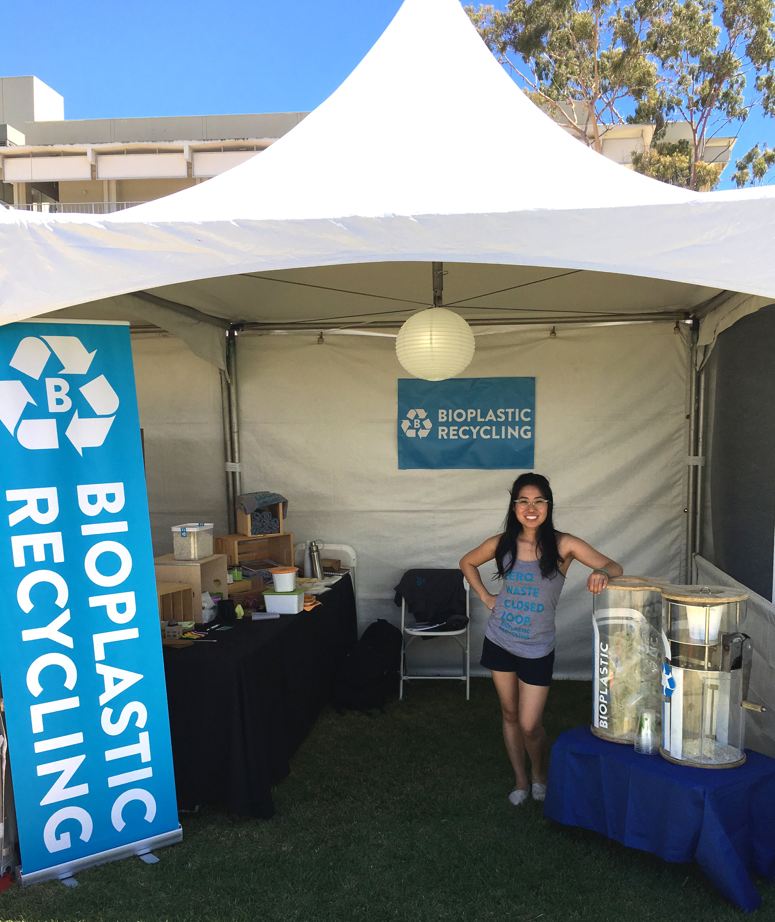 Director of Operations, Nancy Huynh, at Sustainability Conference
