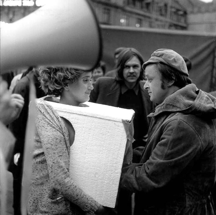 VALIE EXPORT,  TAPP und TASTKINO (TOUCH and TAP Cinema),  1968.