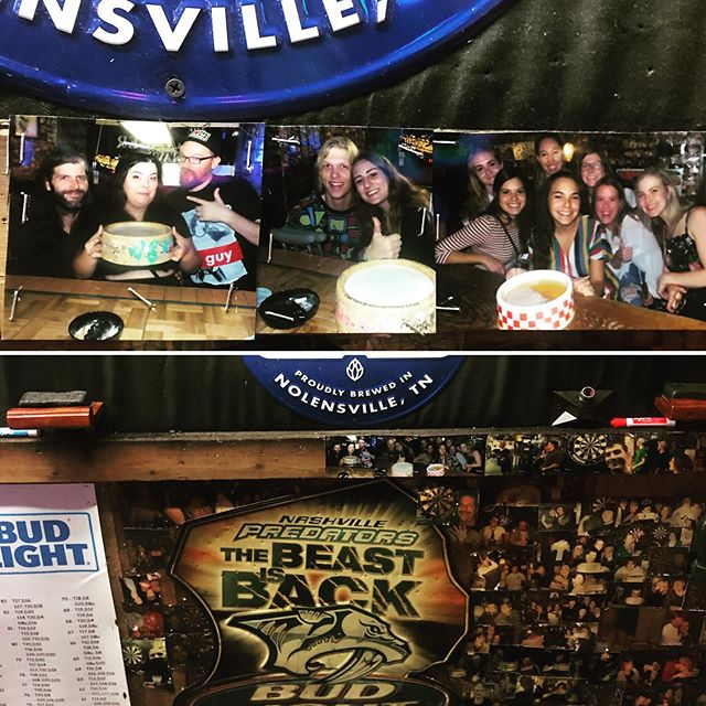 www.thevillagertavern.com  #imonthewallatthevillagertavern #divebar #hillsborovillage  #nashville #villager tavern #darts #bargames #beer #fun #bestofnashville #shiner #historic #wherethelocalsgo  #downtownnashville #hiwirebrewing