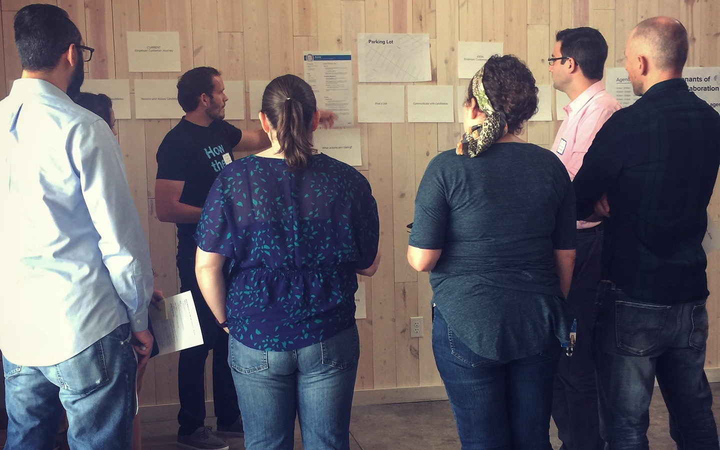 Specialized Exercises - Like products themselves, no two design processes are exactly alike. We offer a range of adaptable workshop formats, discovery exercises, and visualization tools to conjure your next big idea: from strategy tools like empathy maps to tactical activities like swim lanes.
