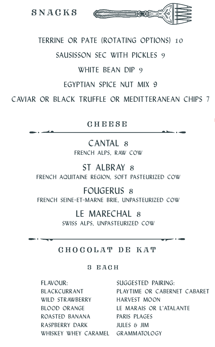 Bar snacks at Mulberry Toronto.png