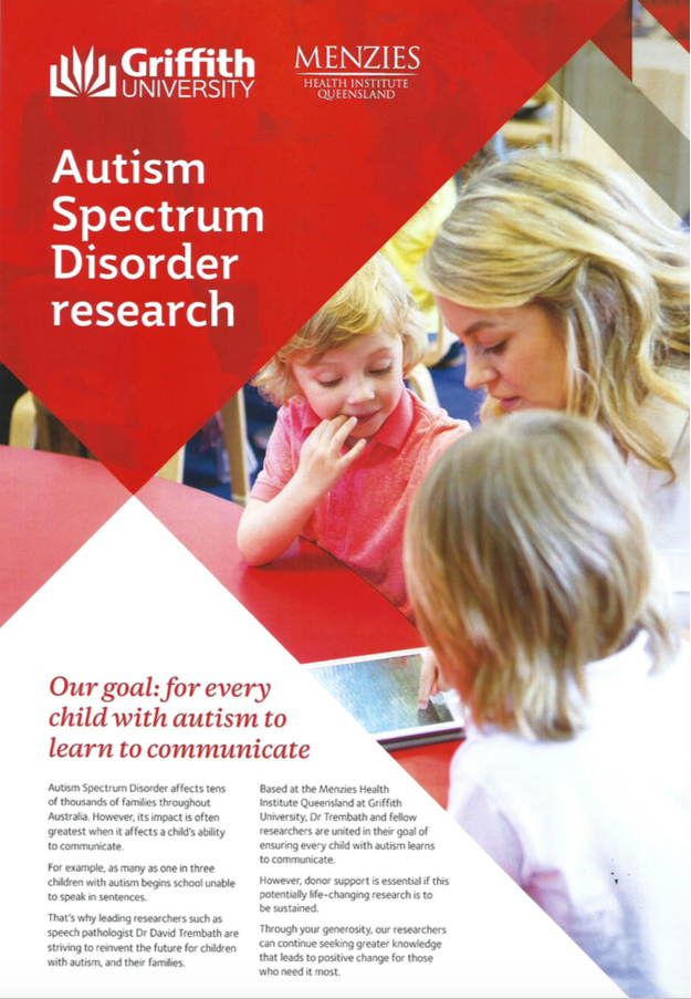 Griffith Health research flyers