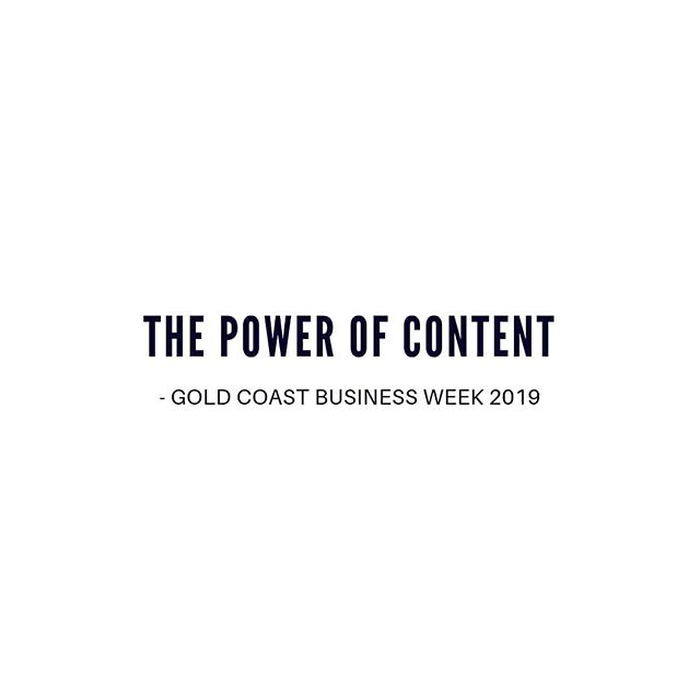 We're excited to announce we will be teaming up with @cityofgoldcoast for Gold Coast Business Week 2019. Very Media's Michael and Melinda will join award-winning editor and content strategist Cameron Pegg to deliver a workshop at Southport Business Hub on Tuesday, 9 July.  Learn how to lead your business to success by taking control of your content, navigating the social scene and using data to fuel efficient storytelling. GCBW19 is the Gold Coast's annual business event to connect with leaders, professionals and entrepreneurs across the city.  For registration link in bio #GCBW19