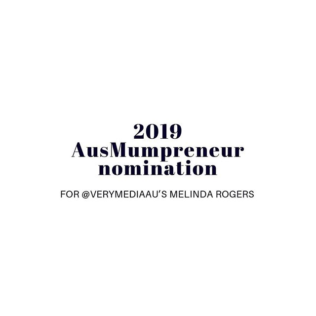 Our Managing Director @minrogerspr has been nominated for the 2019 @AusMumpreneur Awards.These awards, presented by The AusMumpreneur Network, recognise and celebrate Australian women who, as well as being mothers, are achieving outstanding success in areas such as business excellence, product development, customer service and digital innovation. Min, or Melinda, is a great role model as she has been balancing motherhood and business as she raises her three children - Havarna (6), Maverick (5) and Zavier (7 months) - with husband Dave. Read more about the nomination in the link in our bio.