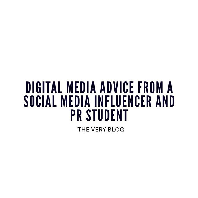 In this digital age, it's a given that brands and businesses are investing in creative strategies with social media marketing. So we asked our Very own intern @janellejaw to share her digital media advice from her perspective as a social media influencer with a following of 21,000 on Instagram, and as a public relations student at @griffithuniversity.