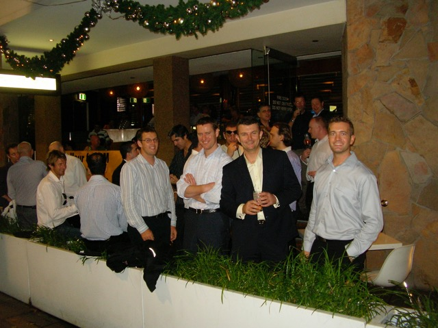Dec 2006 -  one of the First Thursday Curry Club evenings