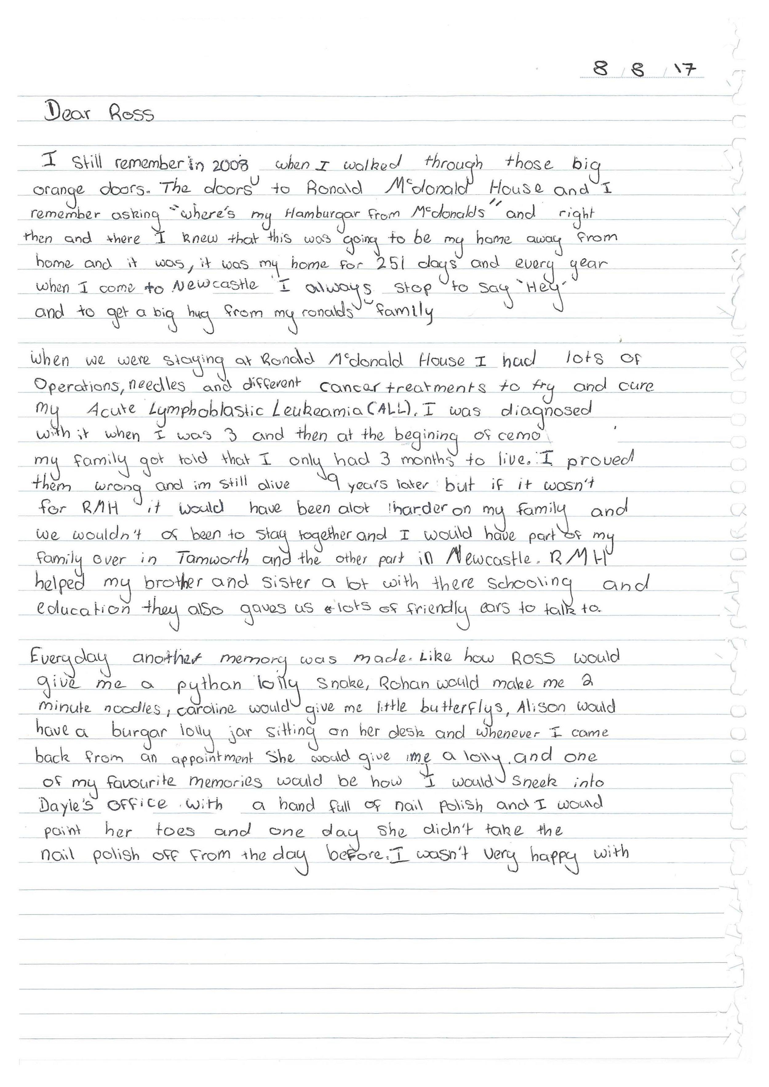 Georgia Smith writes to Ross_Page_1.jpg