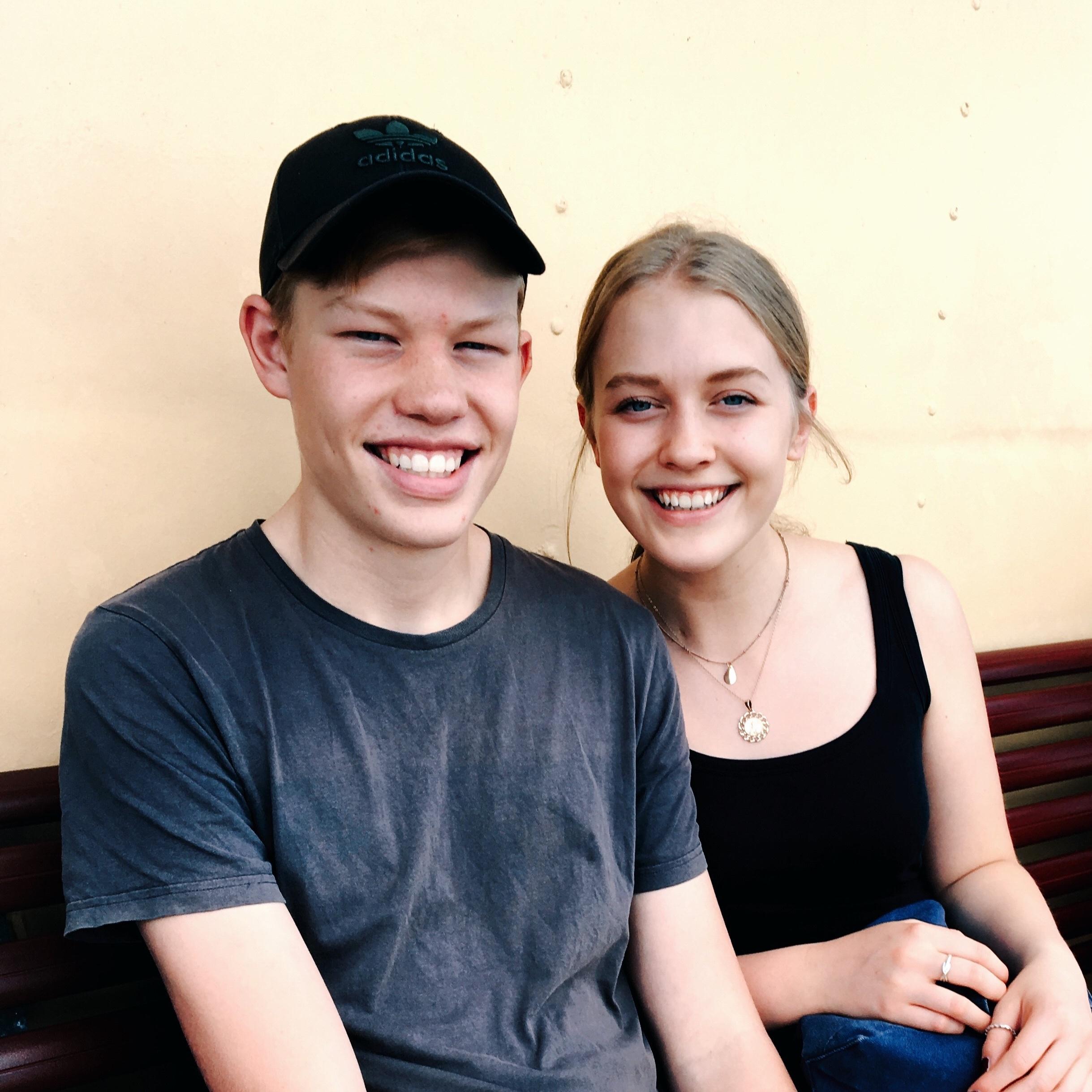Anya and brother Alexander