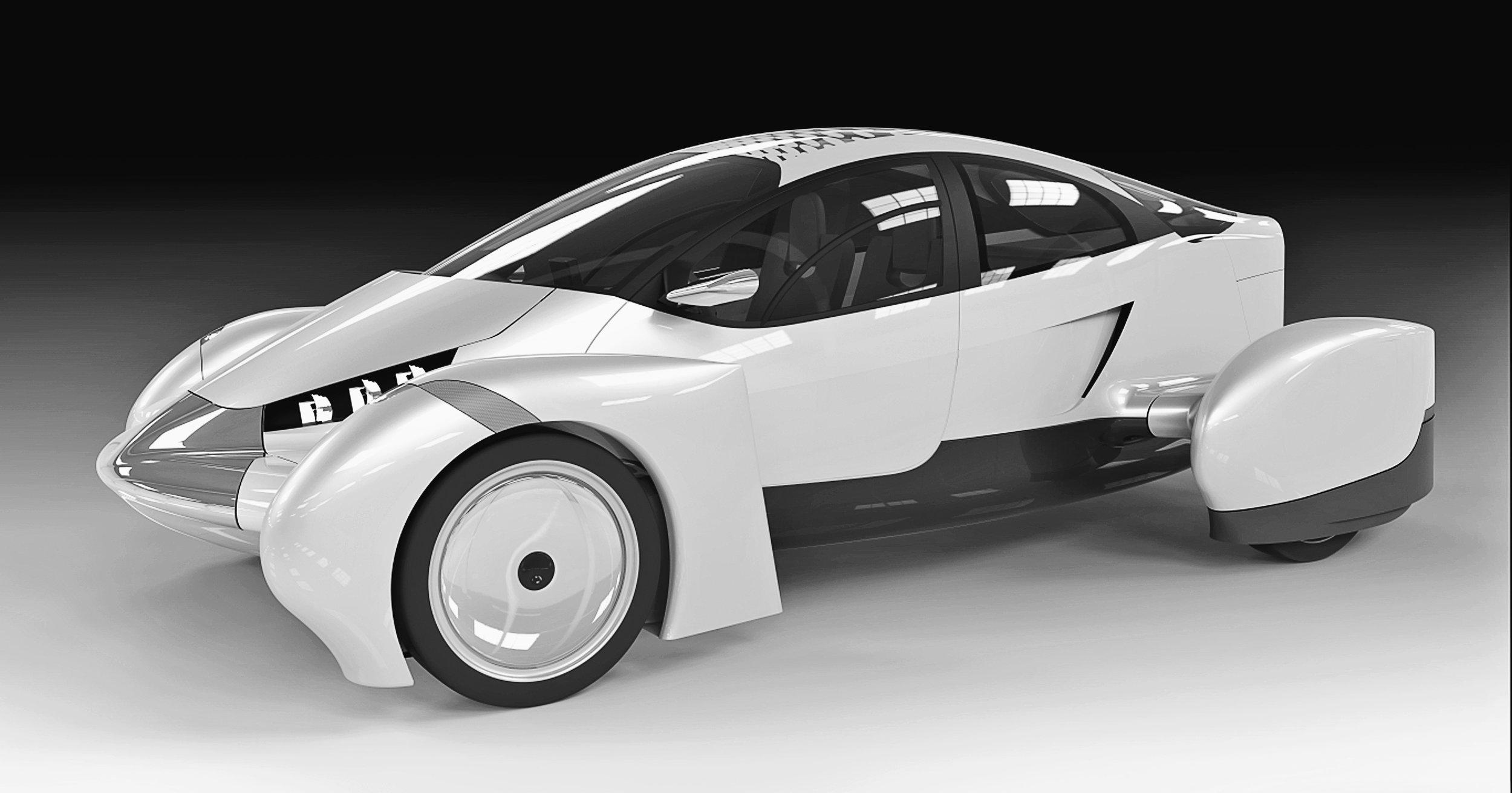 Edison2 Very Light Car render