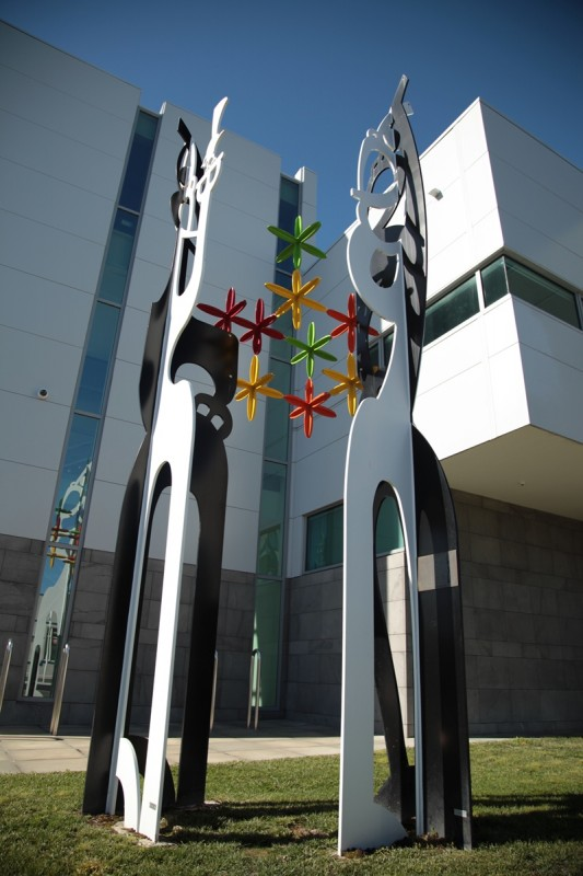 Hastings Courthouse Sculpture