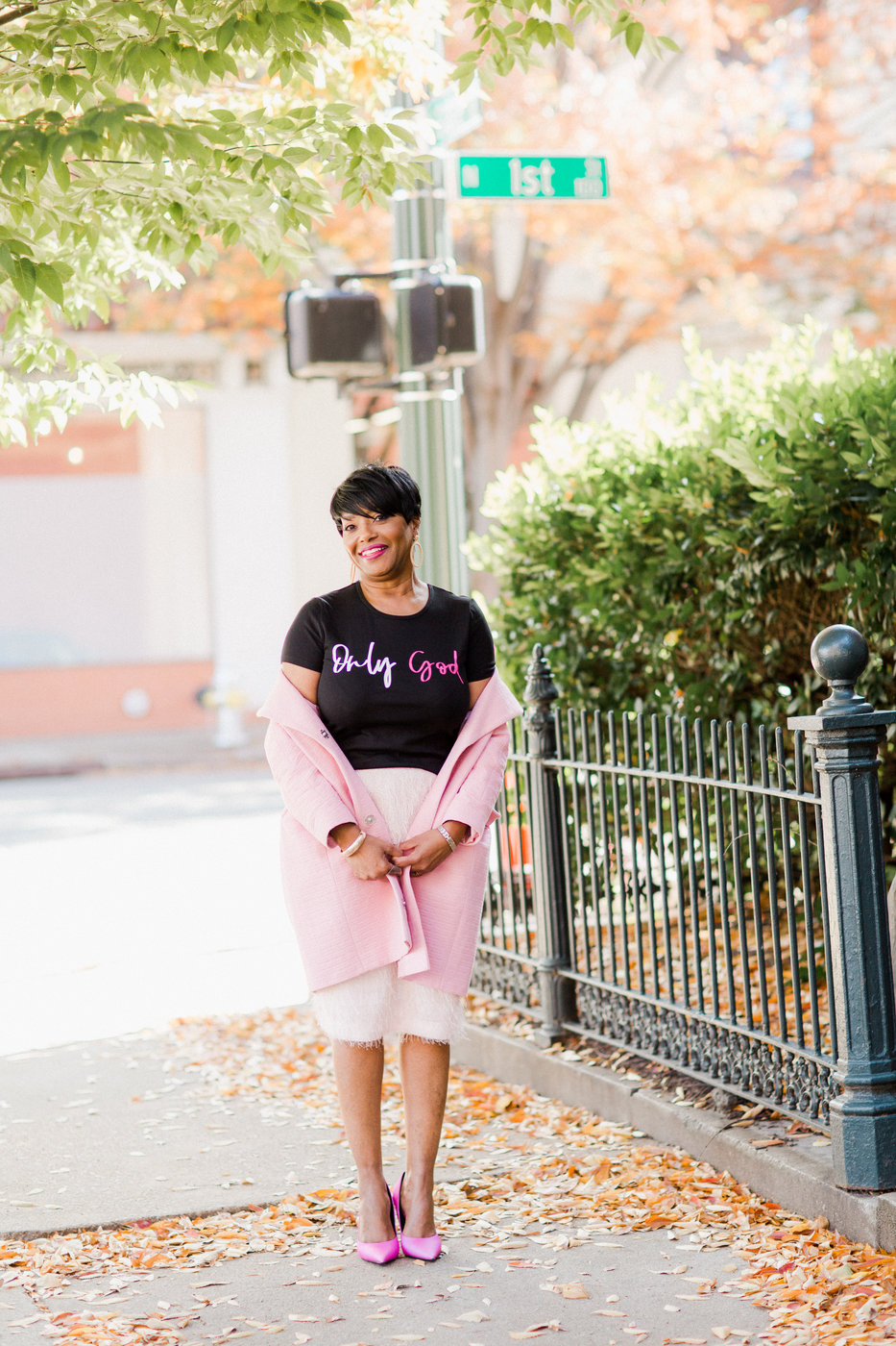 in faith teez with pink skirt.jpg
