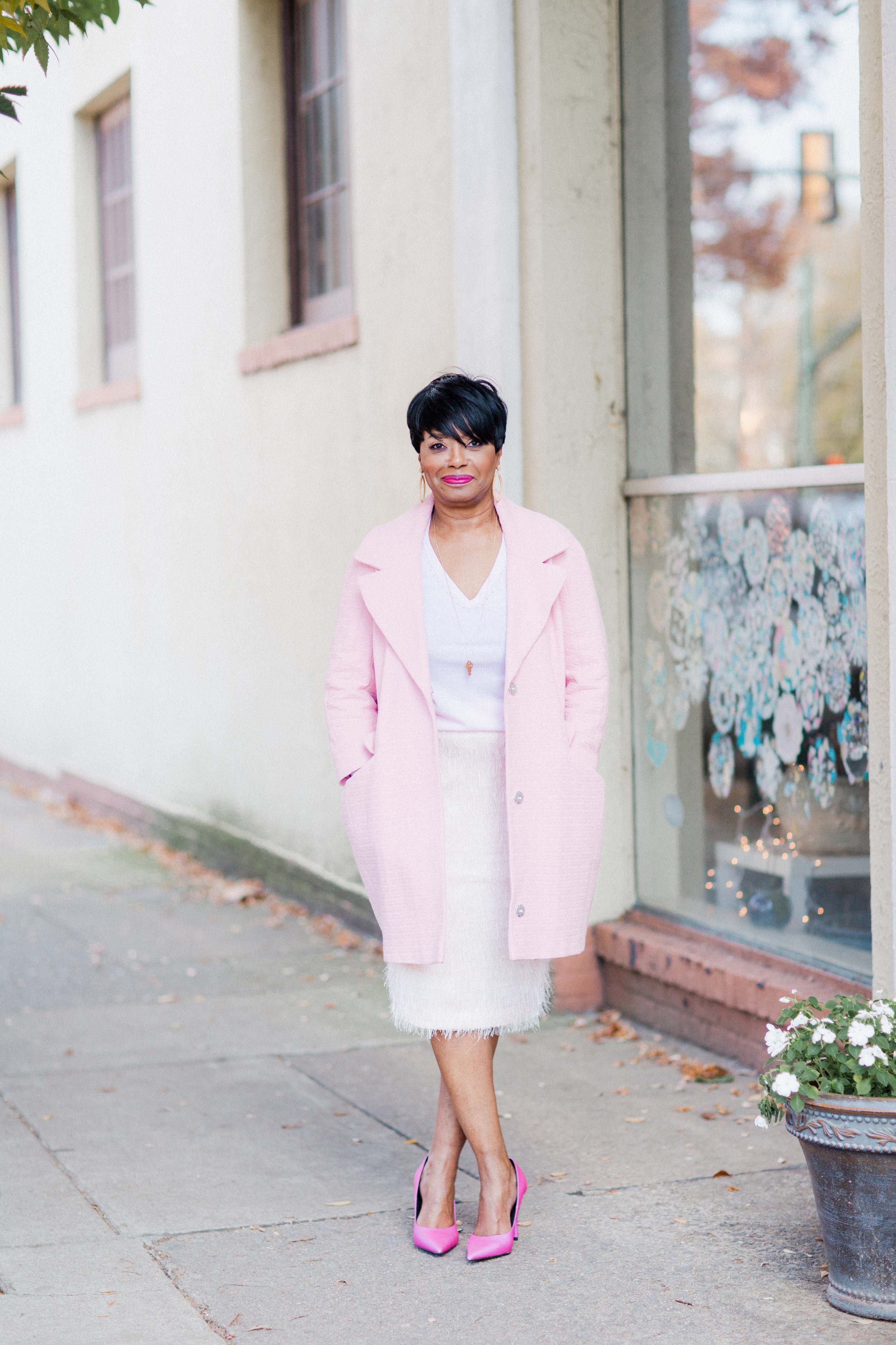 pink outfits banana republic.jpg
