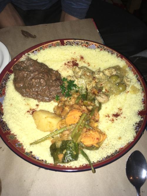 Moroccan Food At La Khaima