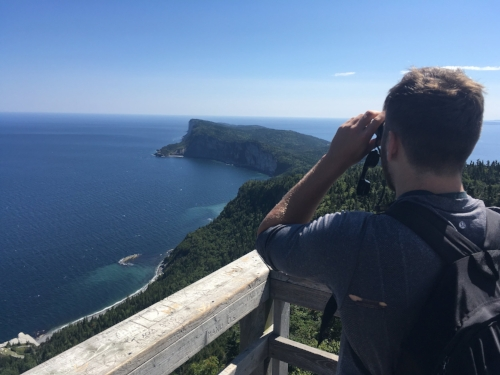 Binoculars In  Forillion National Park