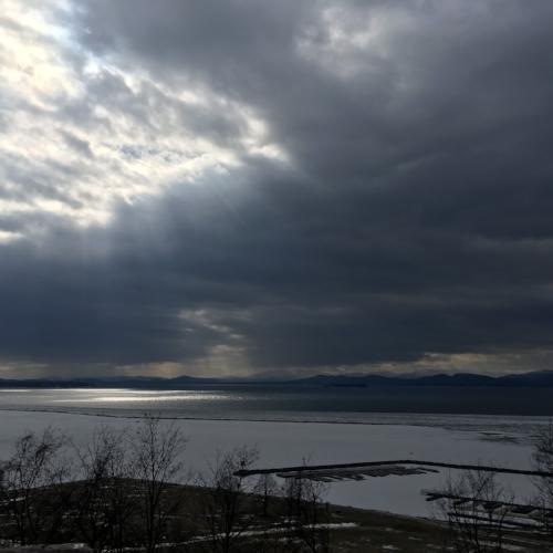 View of Lake Champlain, Burlington,VT