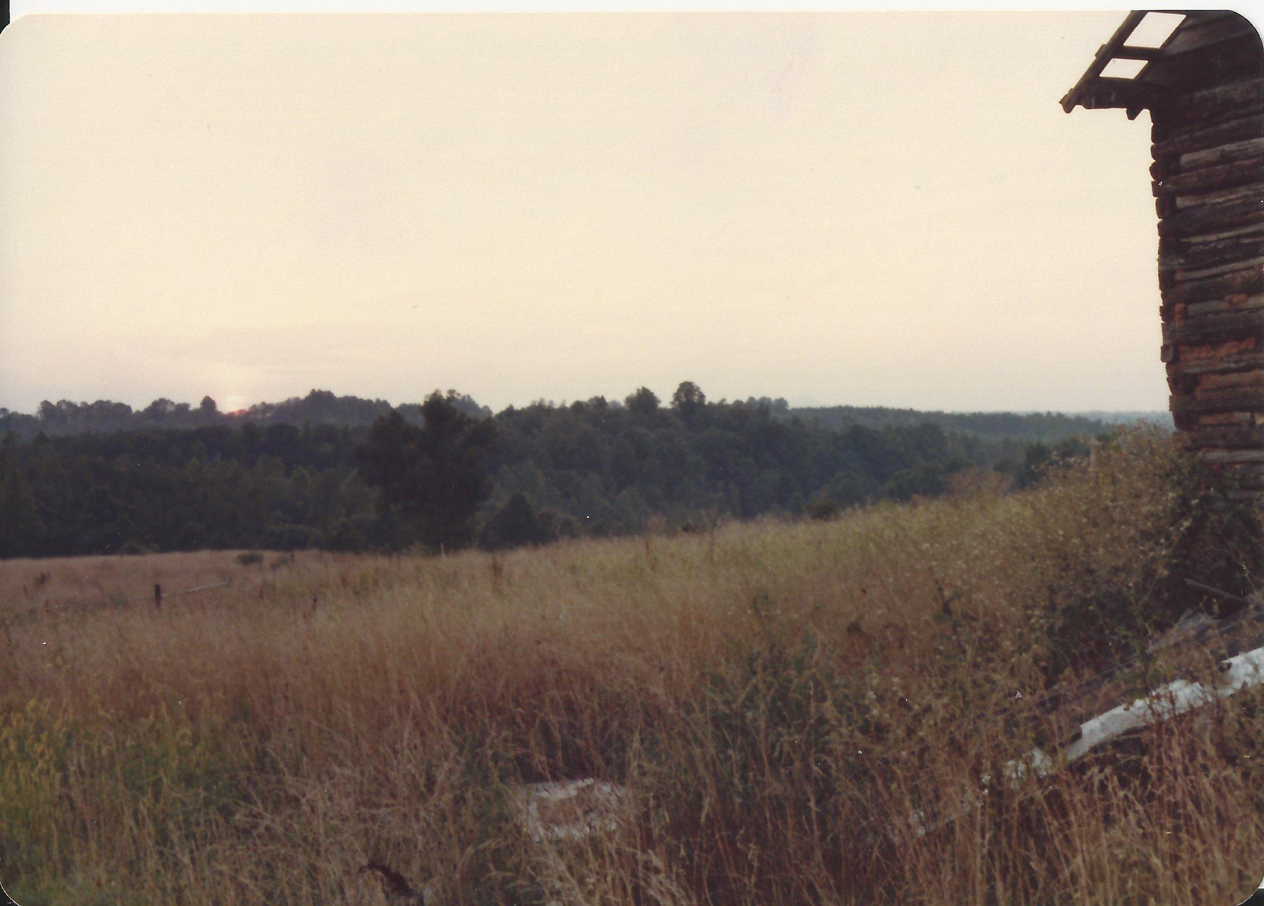 Farm view in 1980's