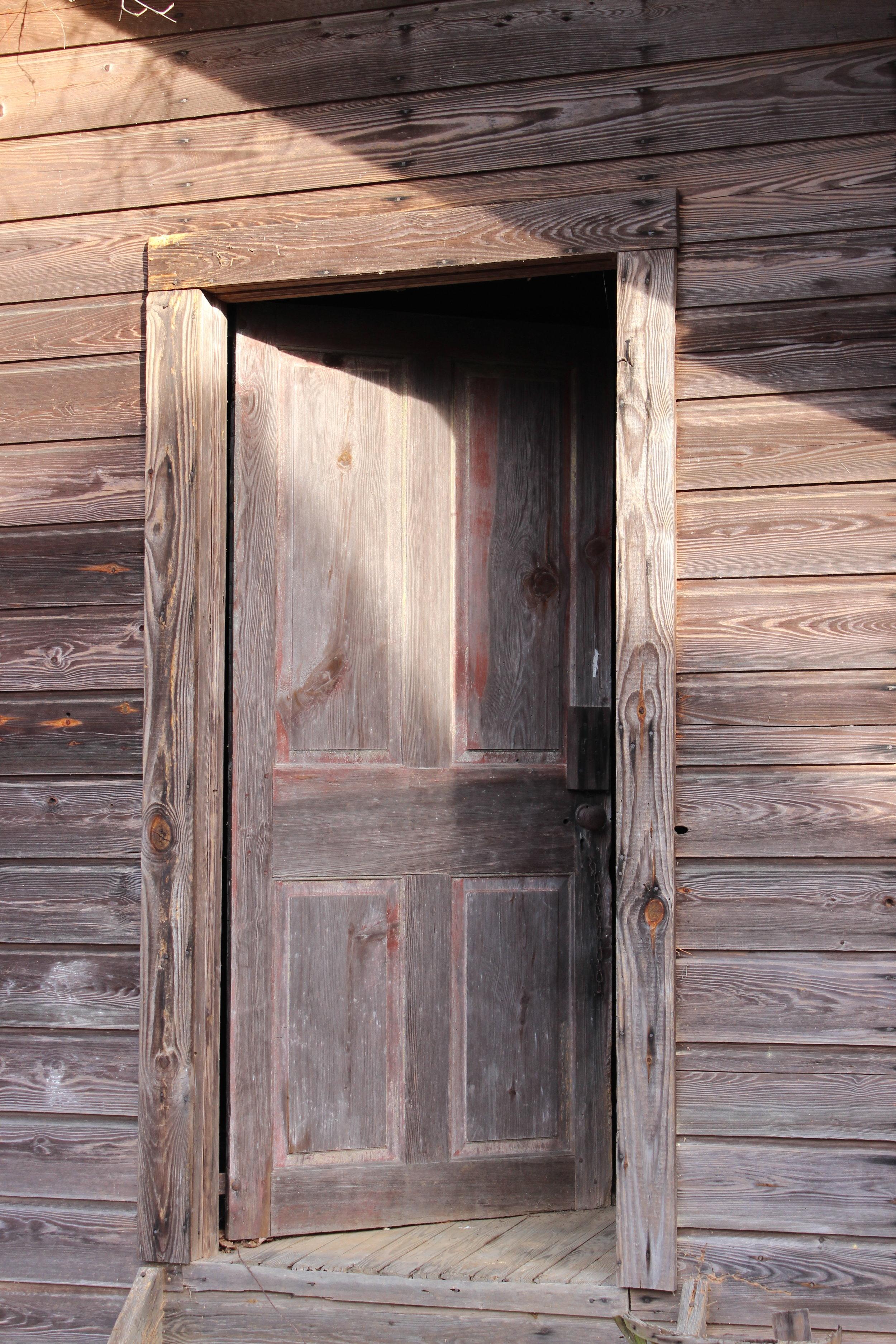 Work Shed Door
