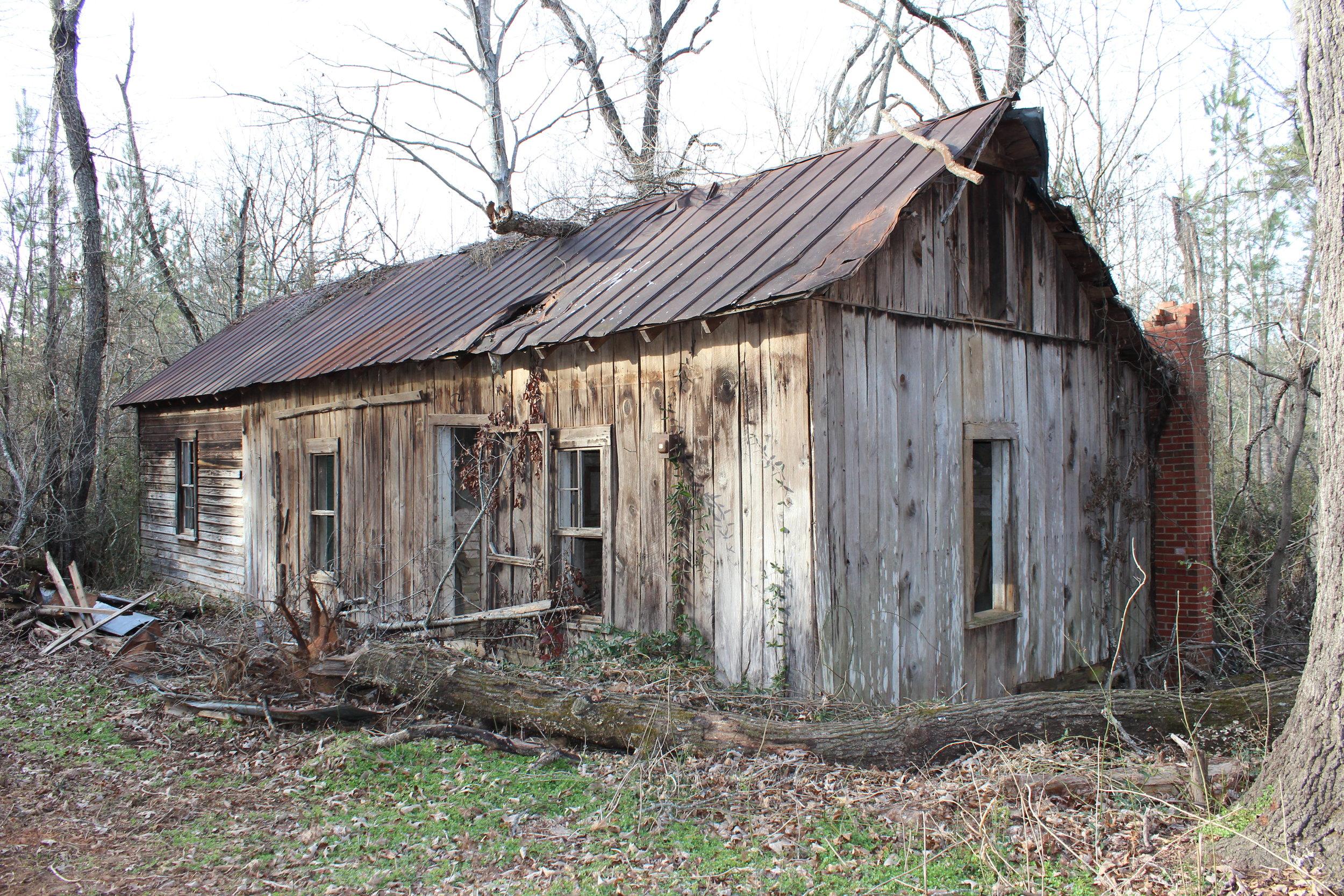 Farmhouse under restoration