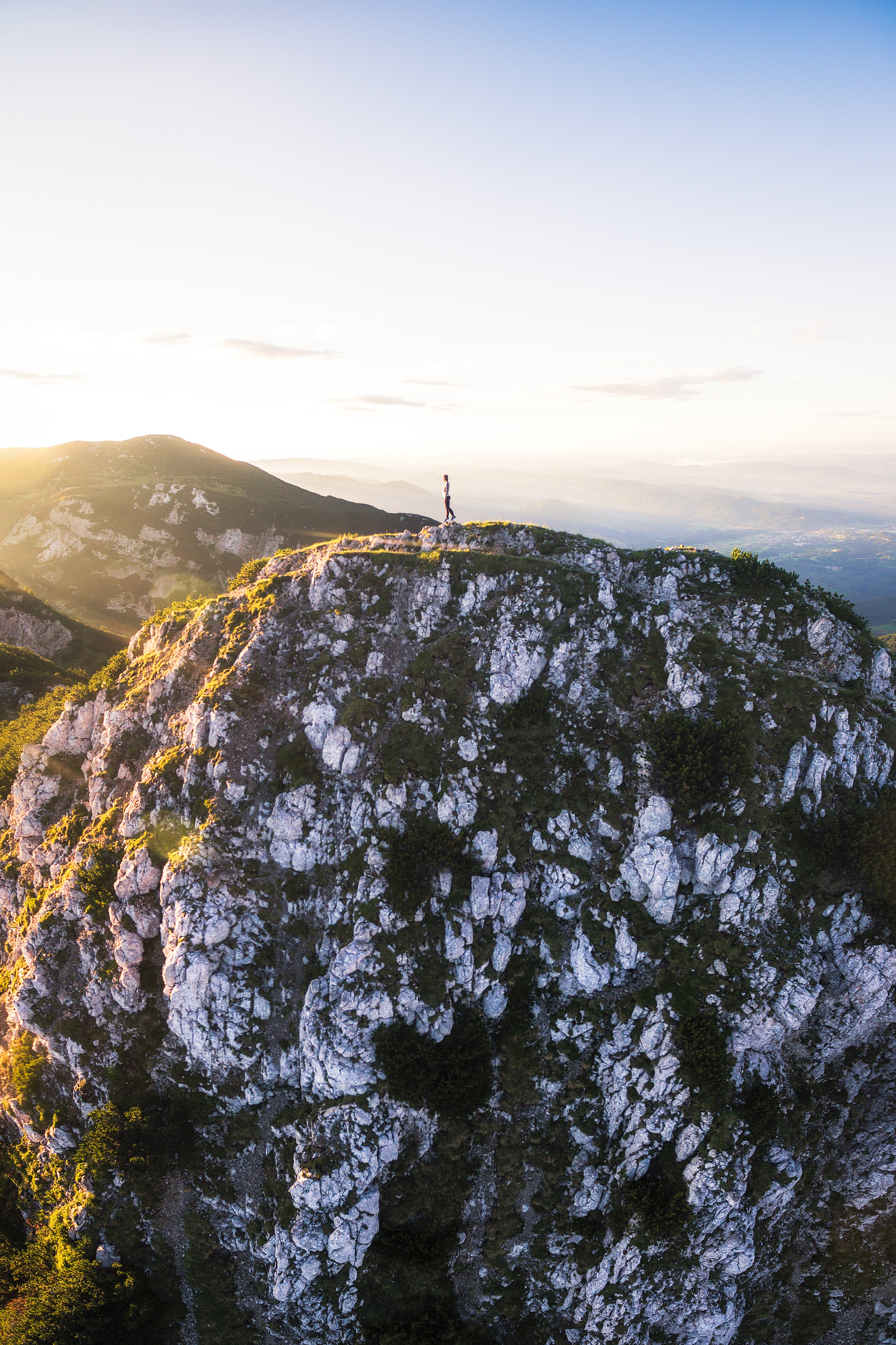Krvavec Sunrise in Slovenia with Andrea by drone by Michael Matti.jpg