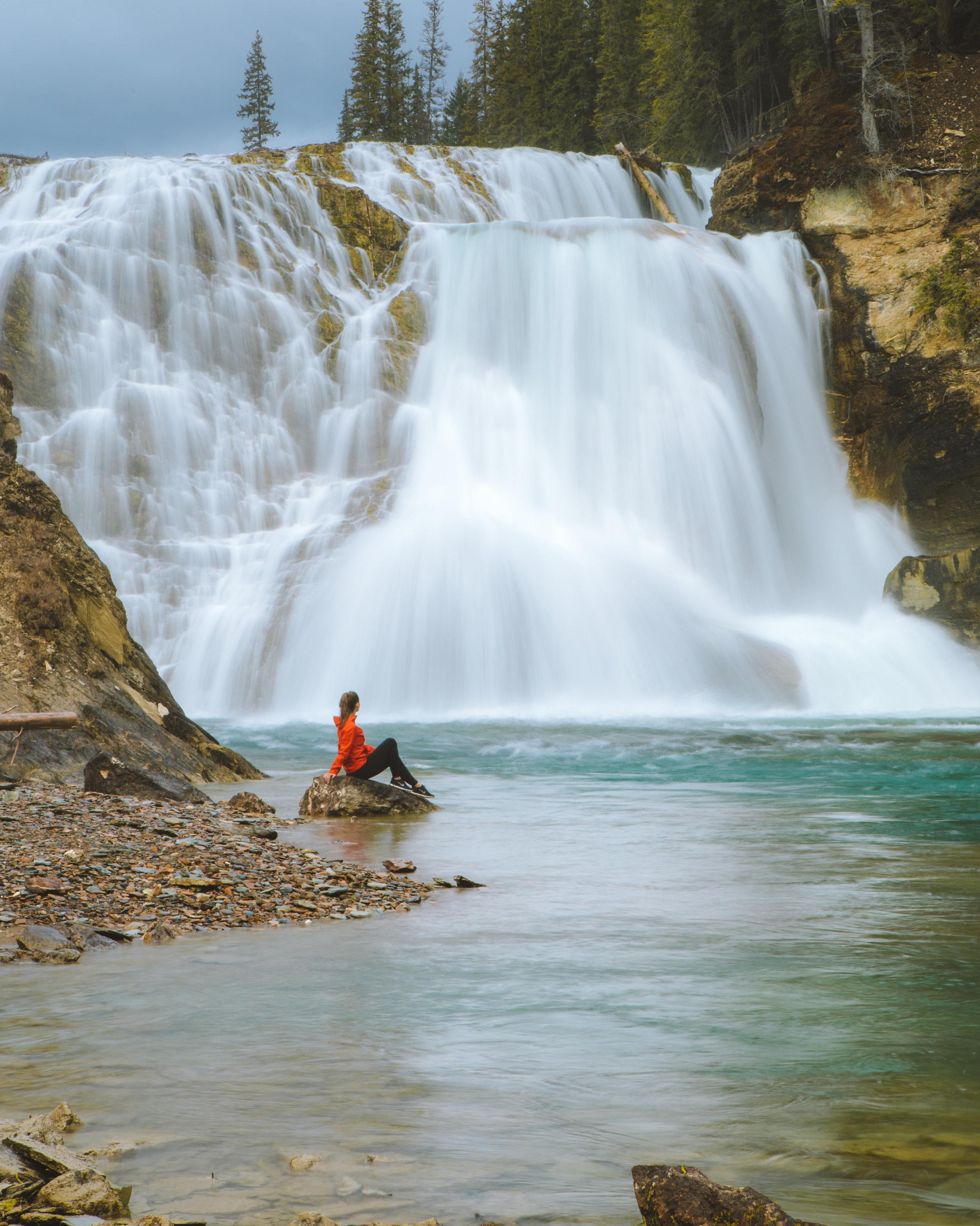 Wapta Falls, photo/ Michael Matti