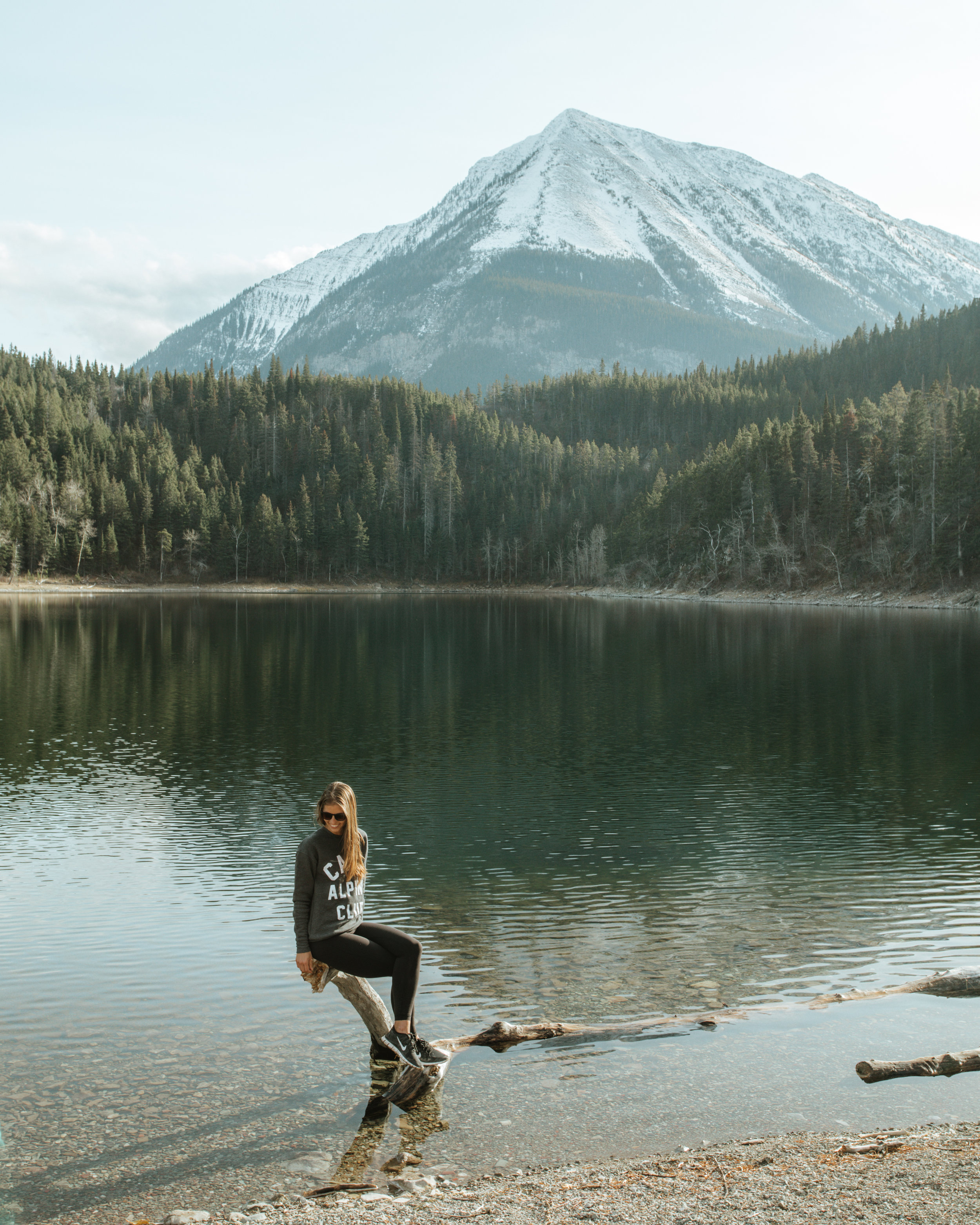A sunny afternoon at Crandall Lake, photo / Michael Matti