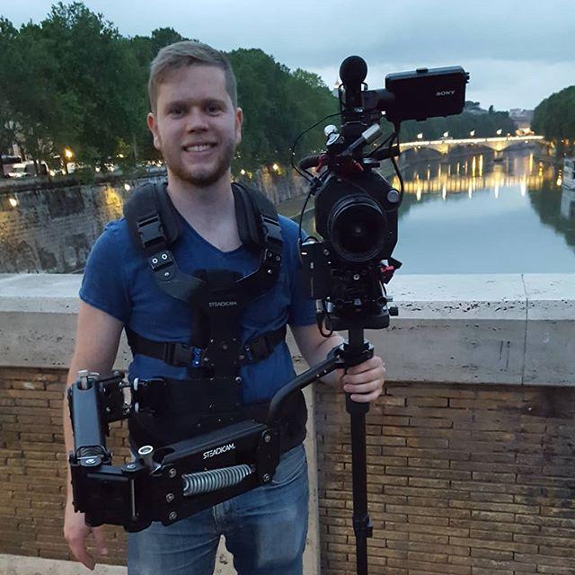 Flying in Rome. #steadicam #filmmaking #documentary