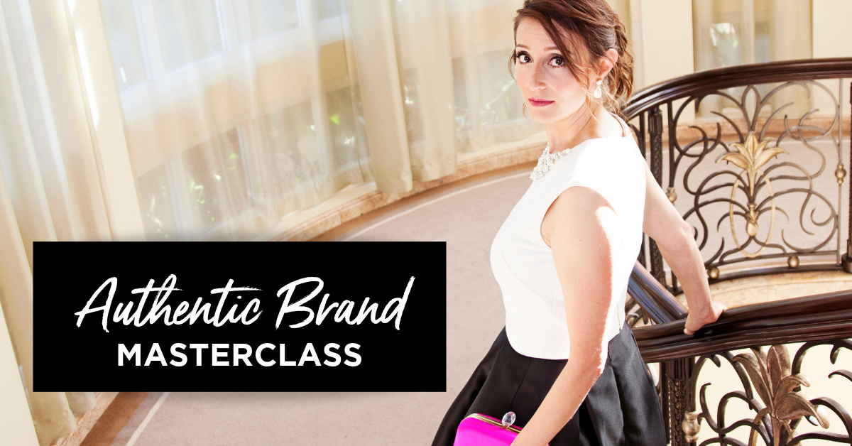 Authentic brand masterclass