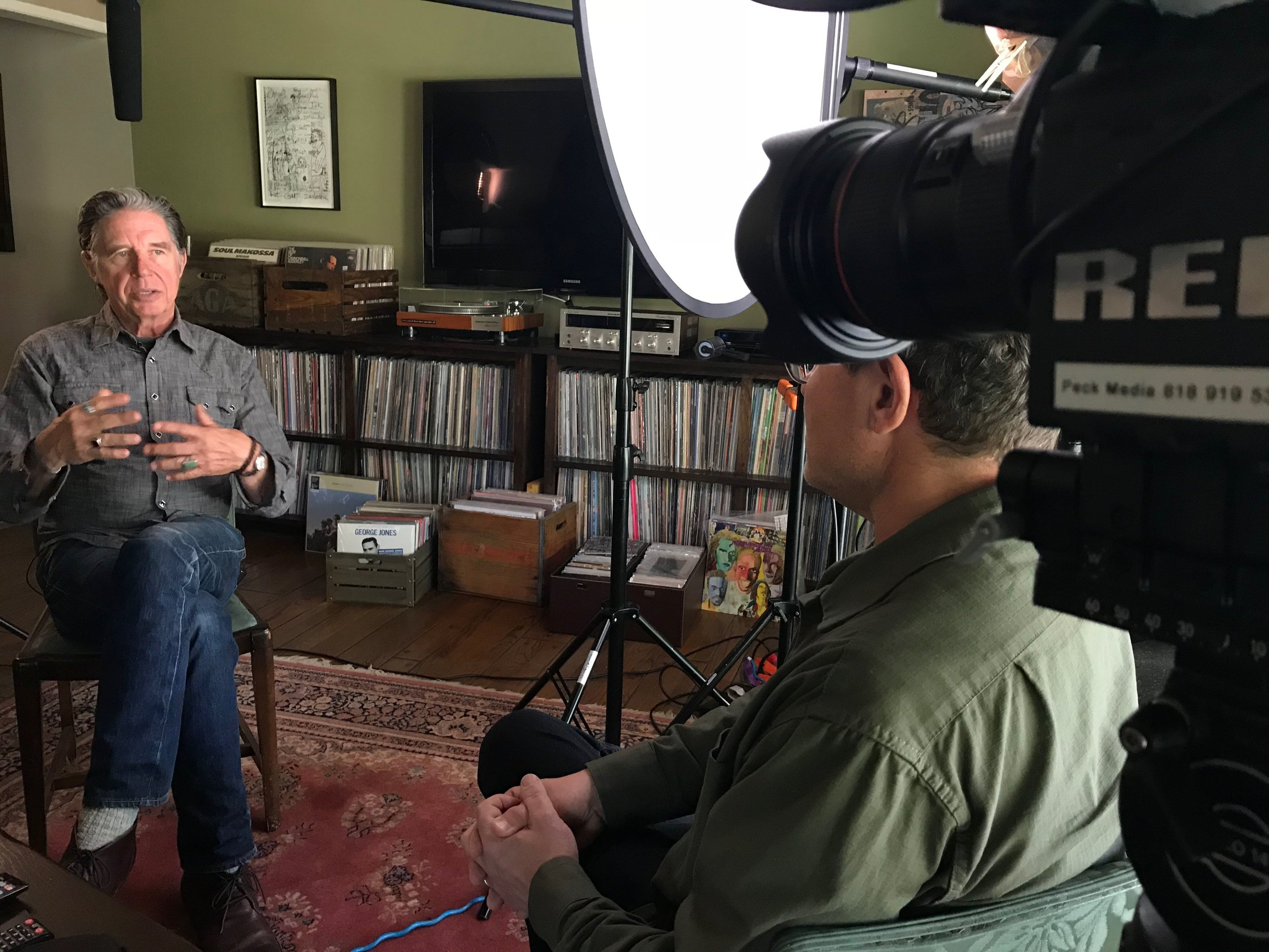 BTS 18th and Grand documentary Tony Peck DP