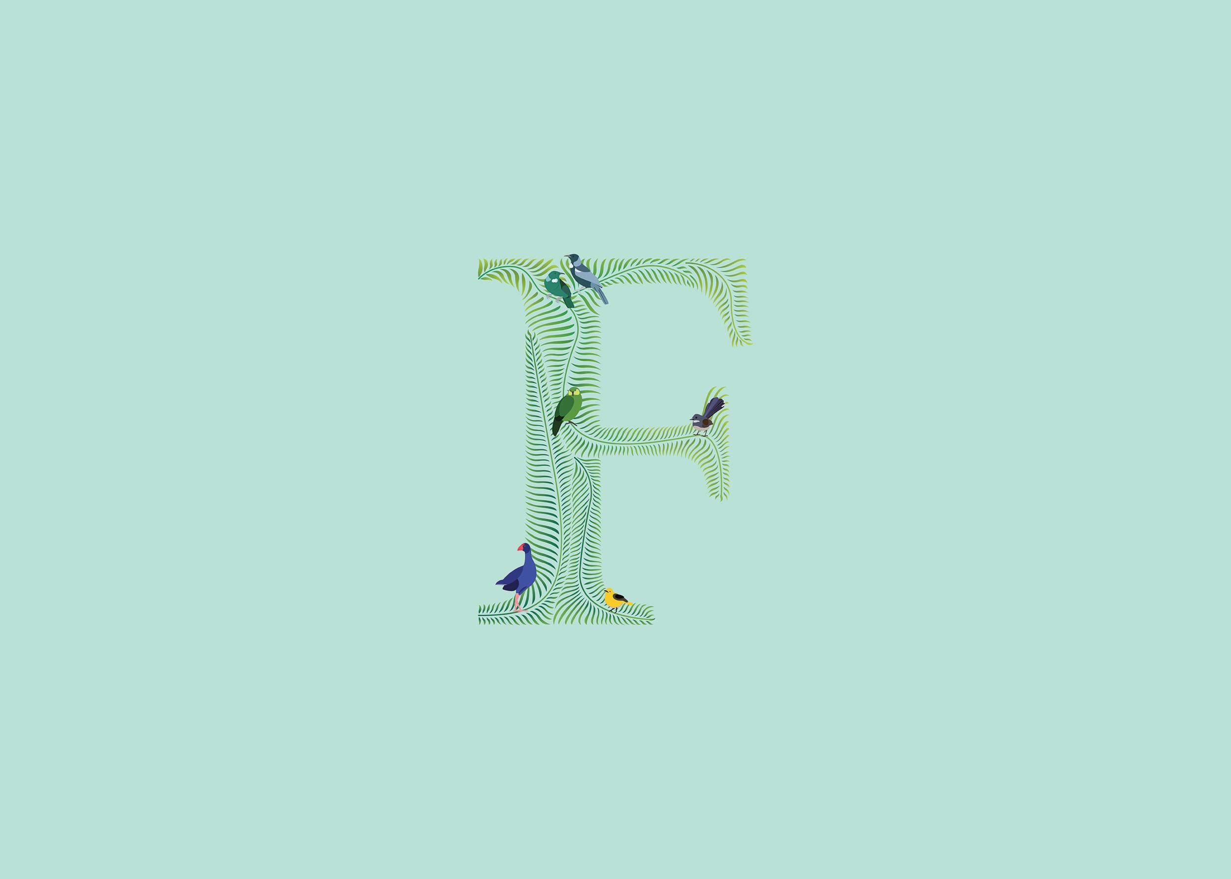 Fern Lettering 01