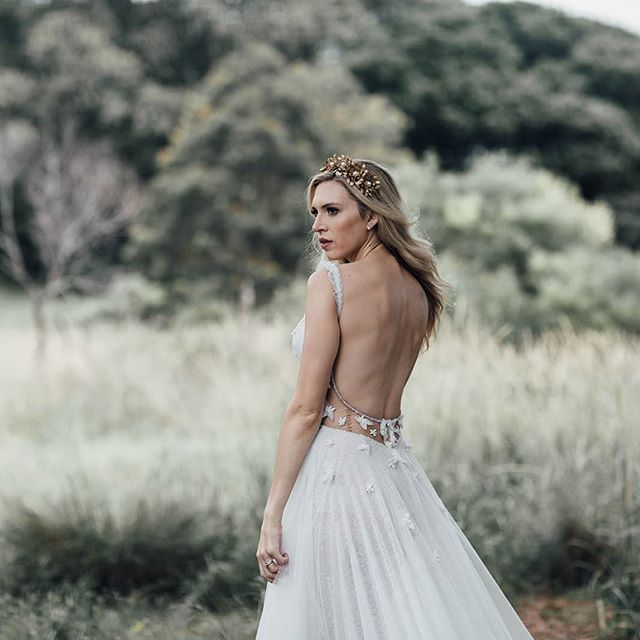 Our romantic Ivy gown from our Eden collection available to try on in our Alexandria studio. . Enquire at  www.ivonncouture.com . . #ivonncouture #whimsicalwedding #femininebride #florals #couture #bridetobe #engaged #instawedding #weddedwonderland #gettingmarried #beading #couture #corset #madeinaustralia #sydneydesigner