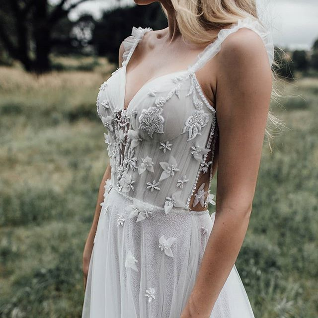 Getting married in 2020 ? Book your consultation to try on our Eden couture collection designed for the romantic bride Enquire at www.ivonncouture.com.