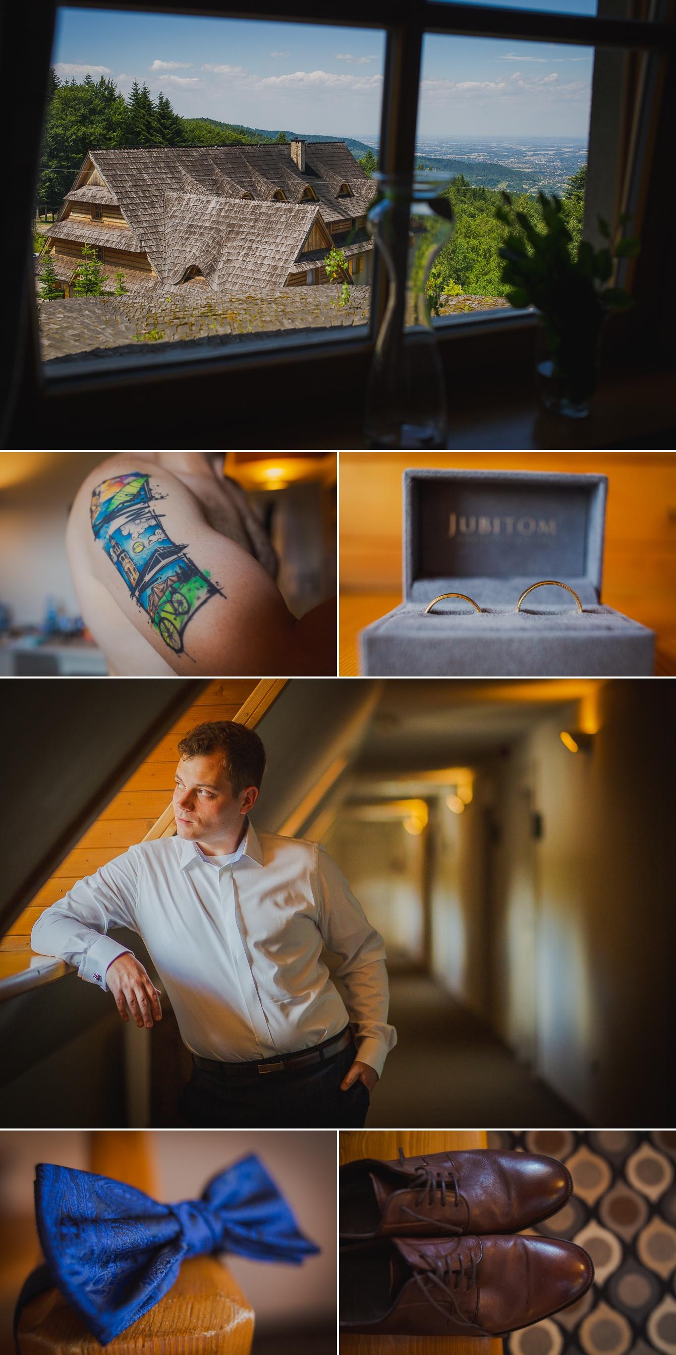 Ania i Damian - ślub w górach - Kocierz SPA - fotografia ślubna - bartek Wyrobek  (1).jpg