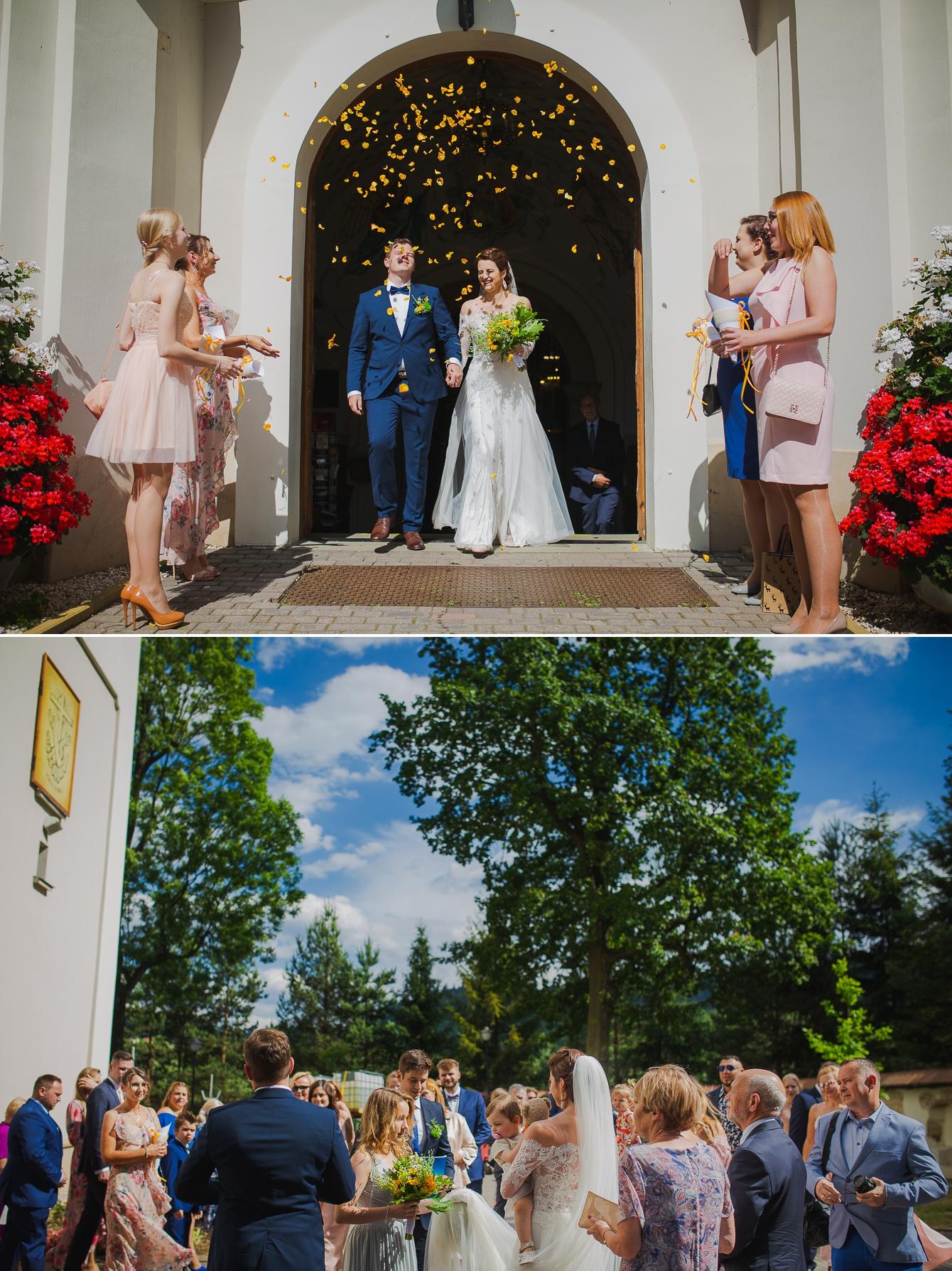 Ania i Damian - ślub w górach - Kocierz SPA - fotografia ślubna - bartek Wyrobek  (12).jpg