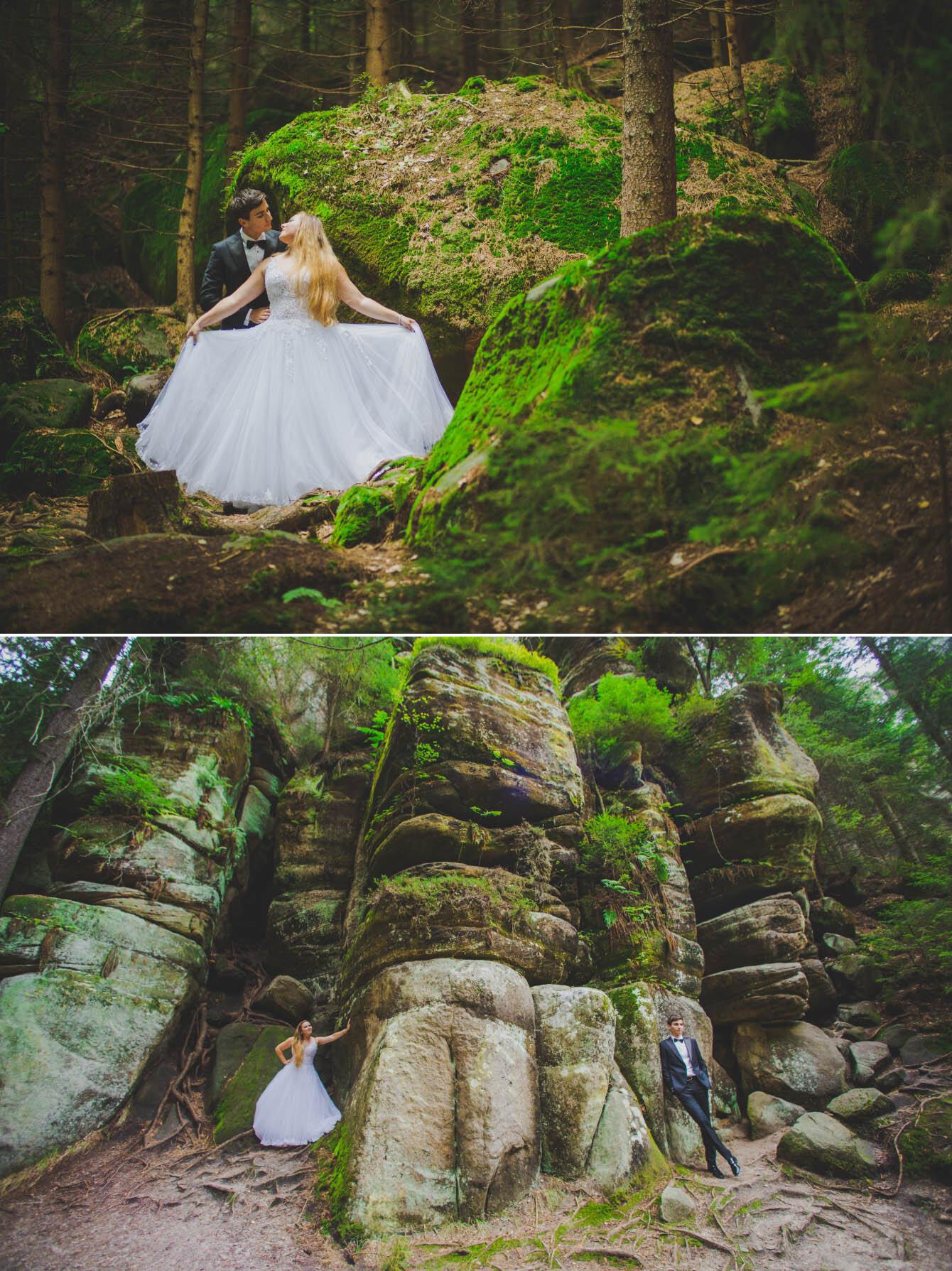 plener ślubny w skalnym miescie w czechach fotografie Bartek Wyrobek  1.jpg
